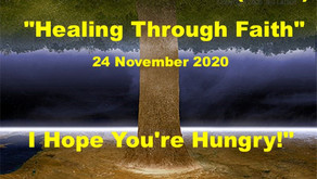 "Warriors for Life (WFL) ""Healing Through Faith"" TONIGHT -  ""I Hope You're Hungry!"""