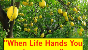 """Tune In TONIGHT with Steven Bates & Warriors for Life (WFL) — """"When Life Hands You Lemons...."""""""