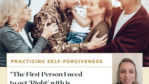 "TONIGHT Join Warriors for Life (WFL) with Alia - ""Practicing Self-Forgiveness!"""