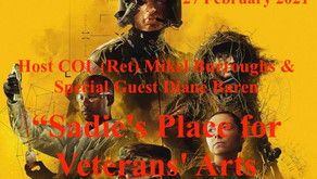 """Drop In TONIGHT with (WFL) & Special Guest Diane Baren - """"Sadie's Place for Veterans' Arts (SPVA)!"""""""