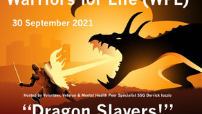 """Be a Part of Warriors for Life (WFL) TONIGHT with Derrick - Topic: """"Dragon Slayers!"""""""