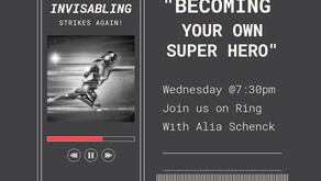 """TONIGHT with Alia - Warriors for Life (WFL) - """"Becoming your own Super Hero."""""""