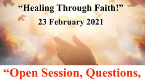 "Open Session TONIGHT with Warriors for Life (WFL) - ""Healing Through Faith!"""