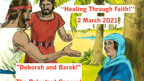 "TONIGHT ""Healing Through Faith"" Addition of Warriors for Life (WFL) - ""Deborah and Barak!"""