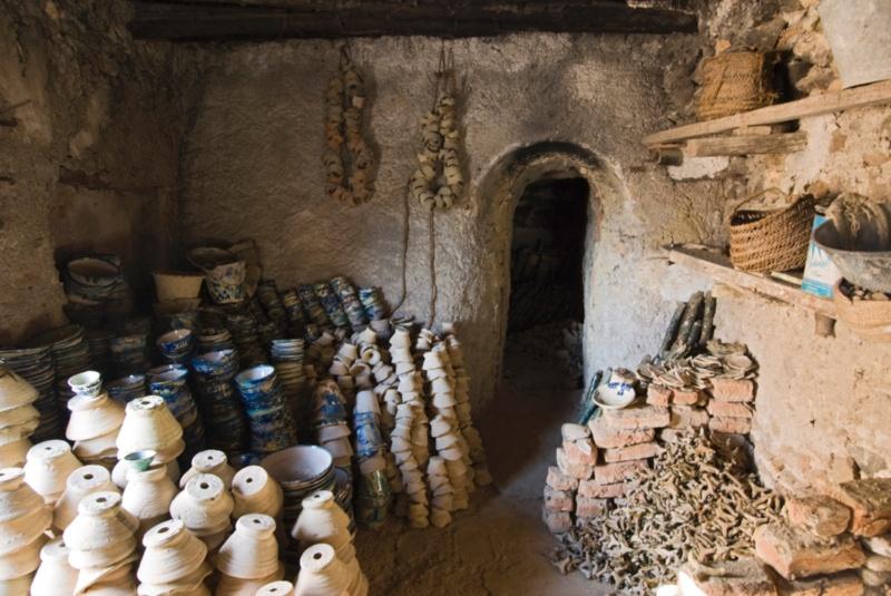 horno cerámica antiguo nijar