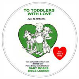 Baby Moses Lesson CD for Toddlers