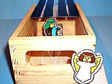 Baby Jesus Peek Box Materials Without Peek Box