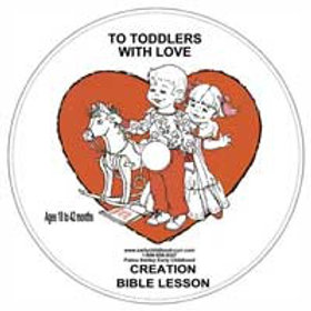 Creation Lesson Cd for 24-42 months