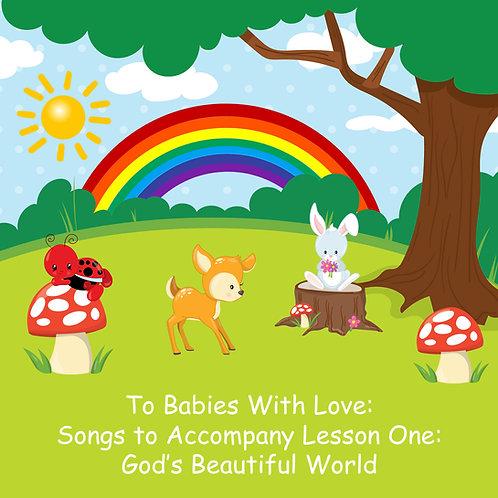 Creation (God's Beautiful World) Curriculum Box for Babies