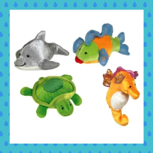Set of four cute finger puppets by Mary Meyer!