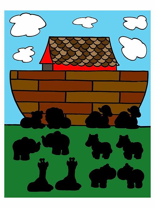 Noah's Ark Pairing and Matching Game