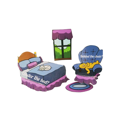 """""""I've Looked and Looked for Mimi"""" peek a boo story kit!"""
