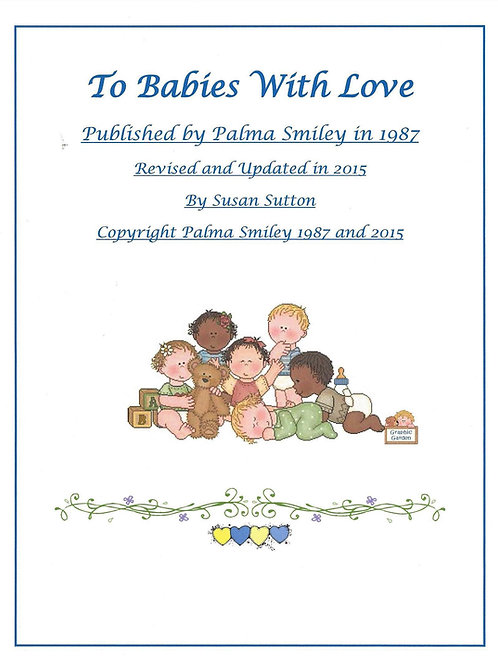 "PDF Download for ""To Babies With Love"" Curriculum Book"