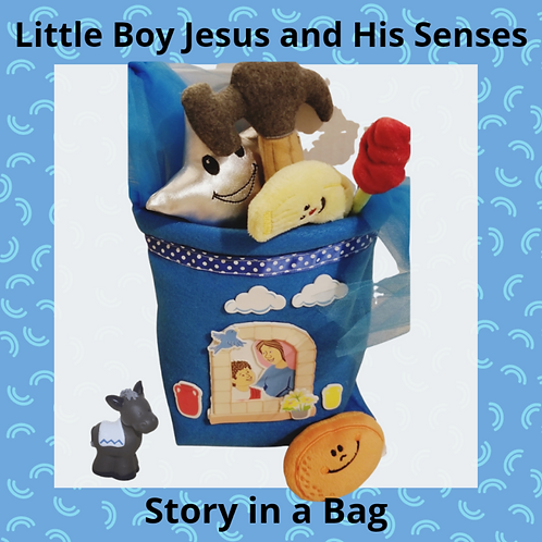 Little Boy Jesus and His Senses