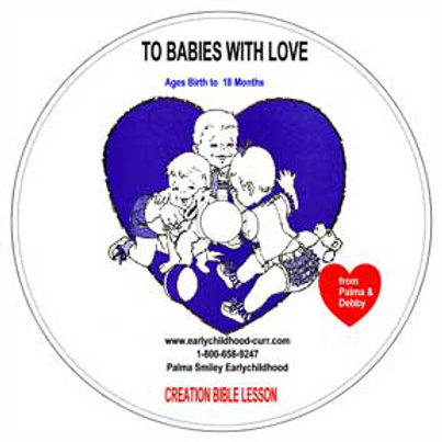 Creation Lesson CD for Babies