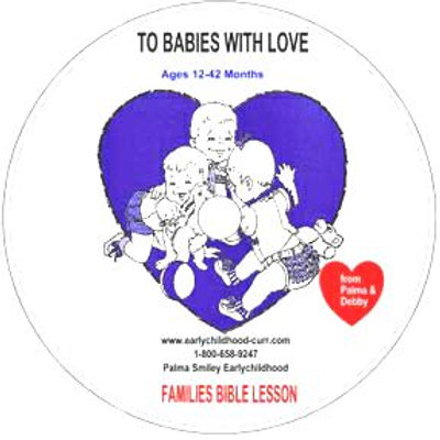 """Thank you, God, for Families"" Lesson CD for Babies"