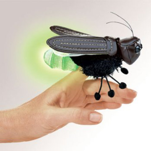 Firefly Finger Puppet by Folkmanis