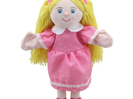 New Mimi Hand Puppet