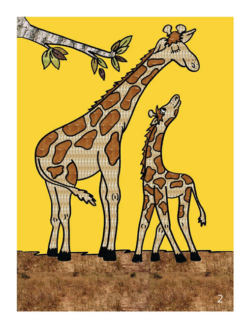 Jimmy the Giraffe Color Story Kit
