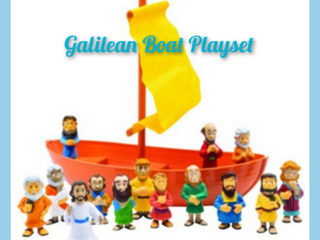 Galilean Boat Playset Is Now Available!