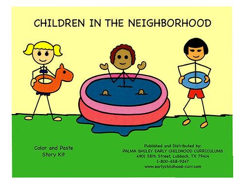 Children in the Neighborhood Color Story Kit