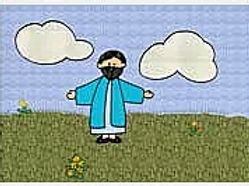Jesus Blesses the Children Color Story Kit