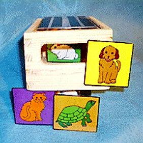 Family Pets Peek Box Materials without Peek Box
