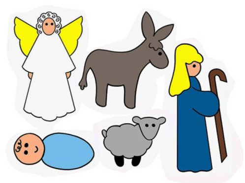 Baby Jesus Matching Game