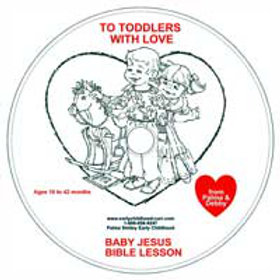 Baby Jesus Lesson CD for 24-42 months