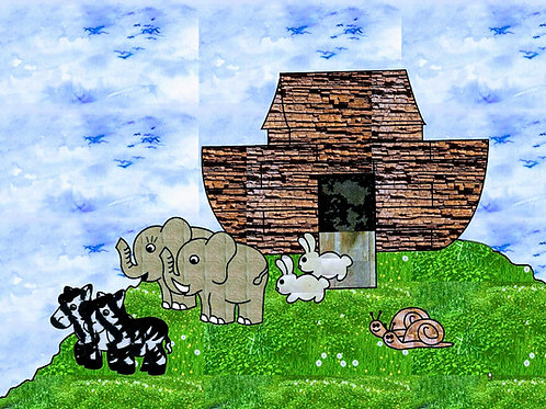 Noah and the Ark Color Story Kit