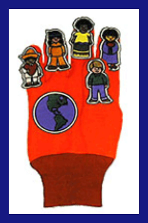 Children of the World glove puppet
