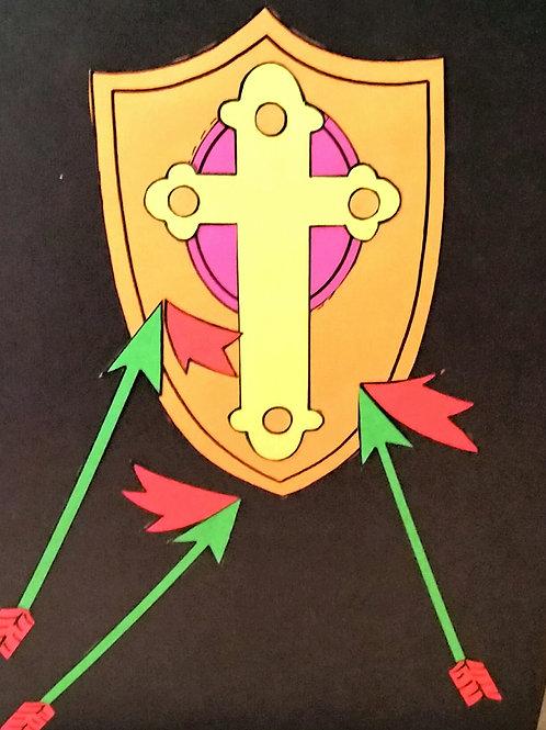 The Armor of God Black light Story Kit