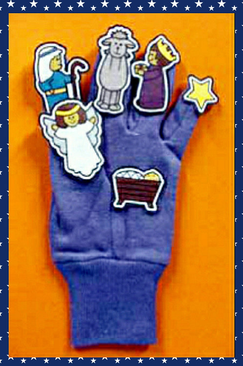 The Birth of Jesus Glove Puppet