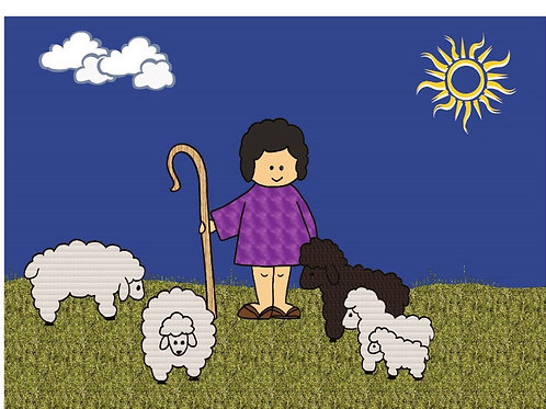 David the Shepherd Color Story Kit
