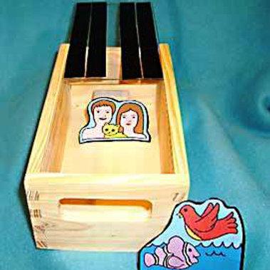 Creation Peek Box Materials without Peek Box