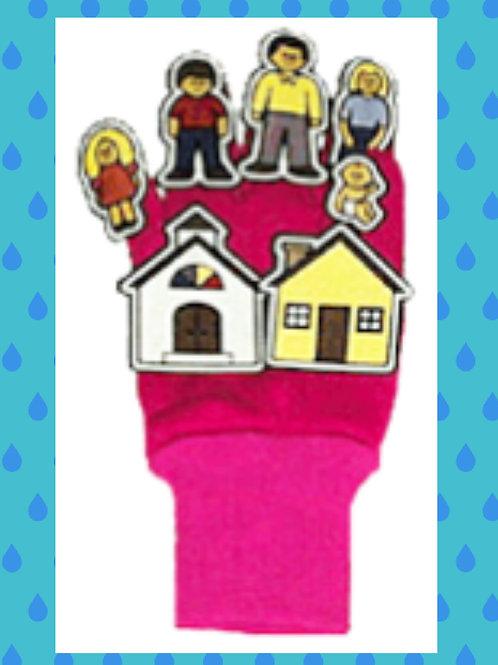 Families Glove Puppet