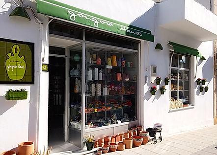 tienda de ceramica en nijar