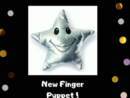Star Finger Puppet is                  Available
