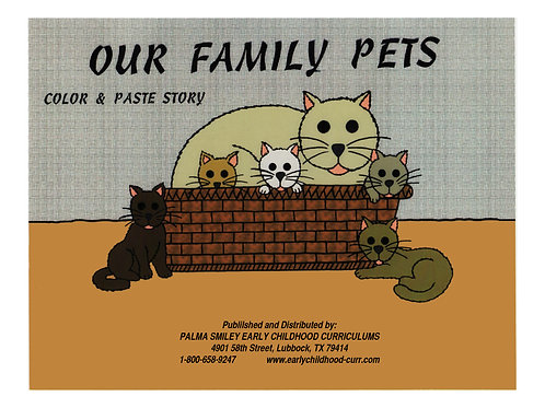 Our Family Pets Color Story KIt