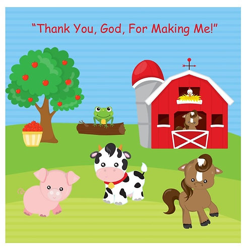 """Song Cd for """"Thank You, God, for Making Me,"""" Lesson 3, To Babies with Love"""