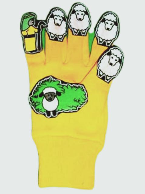 David the Shepherd Glove Puppet