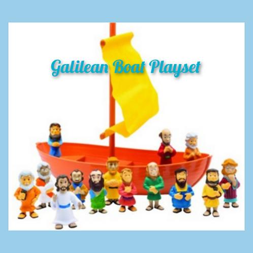 Galilean Boat Playset