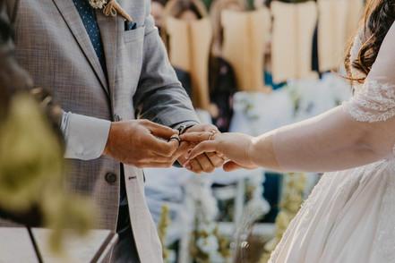 Miriam Sergio Wedding Day