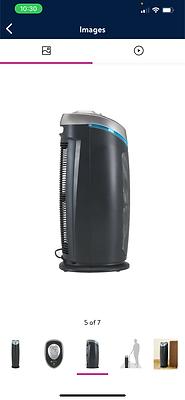 Germ Guardian True HEPA Filter Air Purifier with UV Light Sanitizer, Eliminates