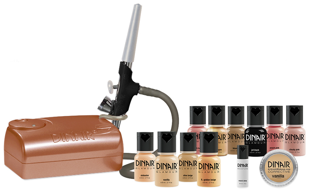 Pro Airbrush Makeup Kit has everything you need for a divinely flawless makeup application.