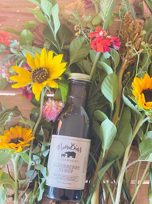 Organic Elderberry Syrup (12oz)