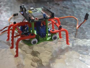 Testeando a Doodle, nuevo robot by Julían Caro