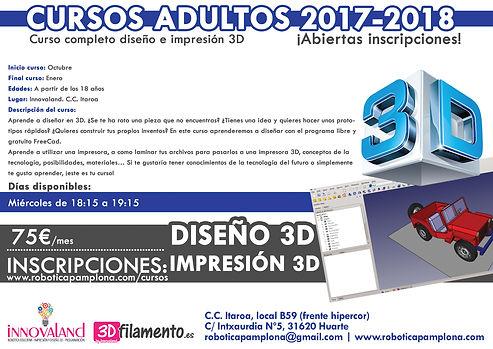 curso diseño 3D Pamplona