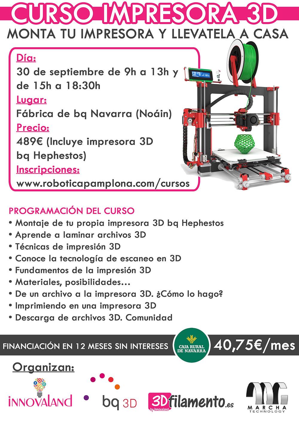 Impresora 3D Pamplona