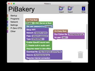 Configurar Raspberry Pi con PiBakery